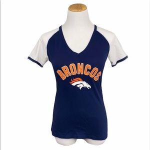 Denver Broncos Slim Fit Short Sleeve Graphic Tee